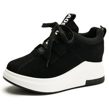 Tenis Feminino Casual Women Shoes Black Platform Sneakers Lace Up Shoes Women 2019 Spring Ladies Shoes Woman Chaussures Femme 2018 new brand shoes woman women flats couples sneakers casual zapatos mujer tenis feminino chaussures femme lace up