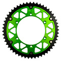 52T High Performance Motorcycle Steel Aluminum Composite Rear Sprocket for KAWASAKI KLX450R KLX450 R 2007-2014