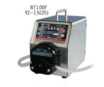BT100F YT15 Intelligent Dispensing Dosing Filling Peristaltic Pump Industry lab Medical Tubing Pumps Precise 0.006-570 ml/min