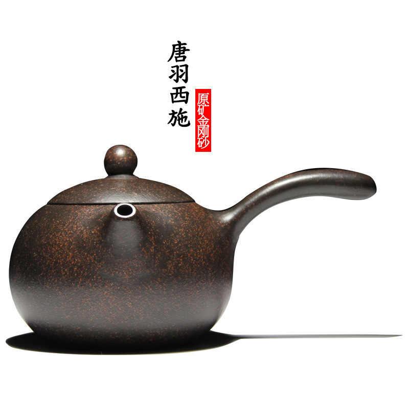 Yixing son recomendados por el manual Tang Yu xi shi tetera de cerámica juego de té kung fu regalo venta al por mayor de encargo
