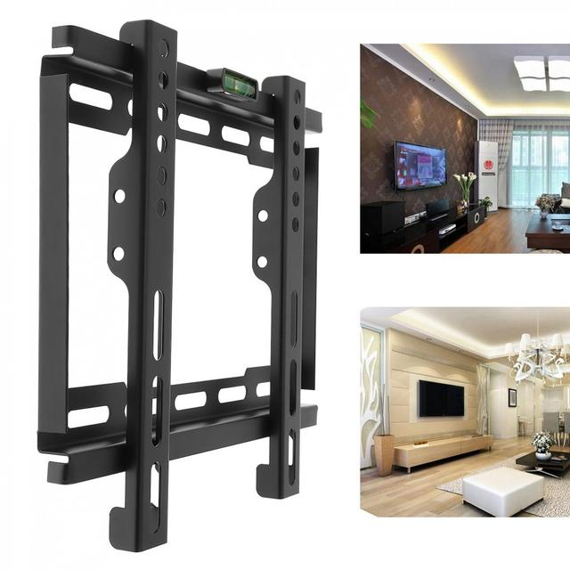 Universal Tv Wall Mount Bracket Lcd Led Frame Holder With Level Standard For Most 12 To