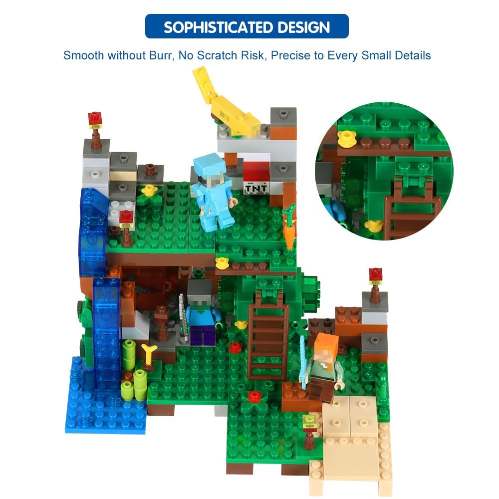 Blocos de ação de animais 4 Toys : Brinquedos, Juguetes, ninjago, jouet, diy Building Blocks Toy