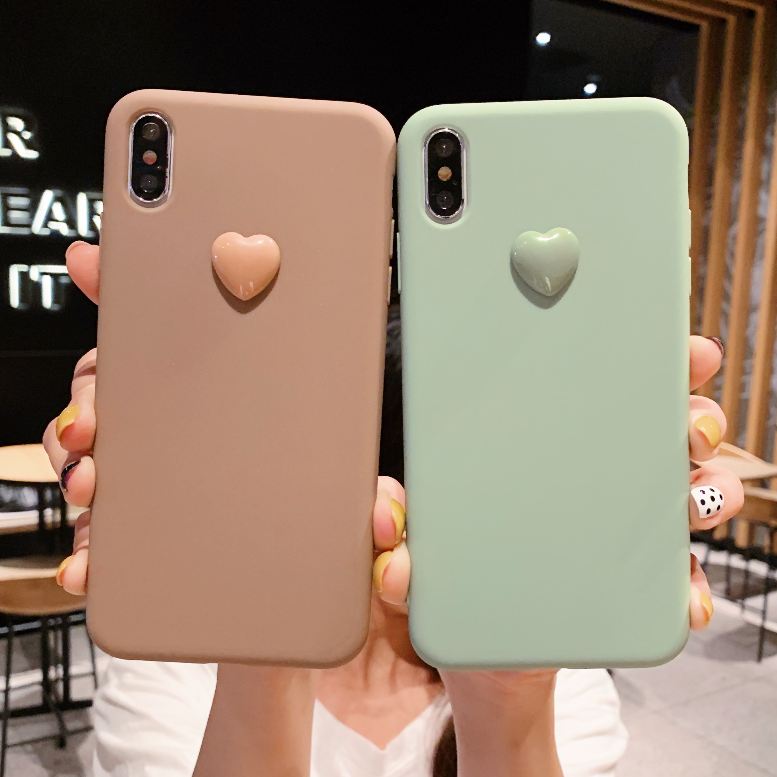 iphone xs max coque silicone 3d