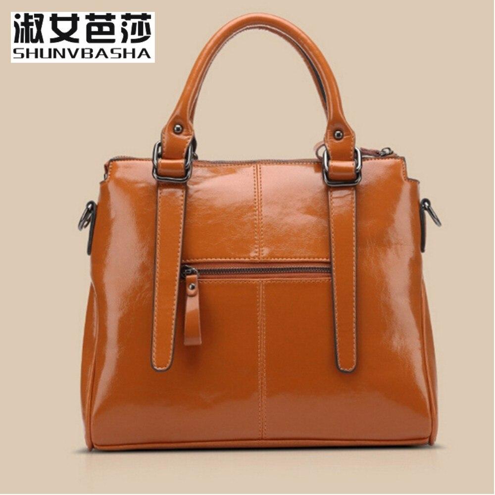 ФОТО SNBS 100% Genuine leather Women handbags 2017 New brand design Messenger bag fashion ladies Crossbody Bag famous brand bags