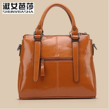 SNBS 100 Genuine leather Women handbags 2017 New brand design Messenger bag fashion ladies Crossbody Bag