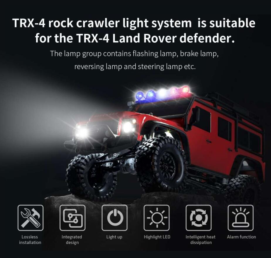 Купить gtpower подсветка для гусеницы рок подходит land rover defender