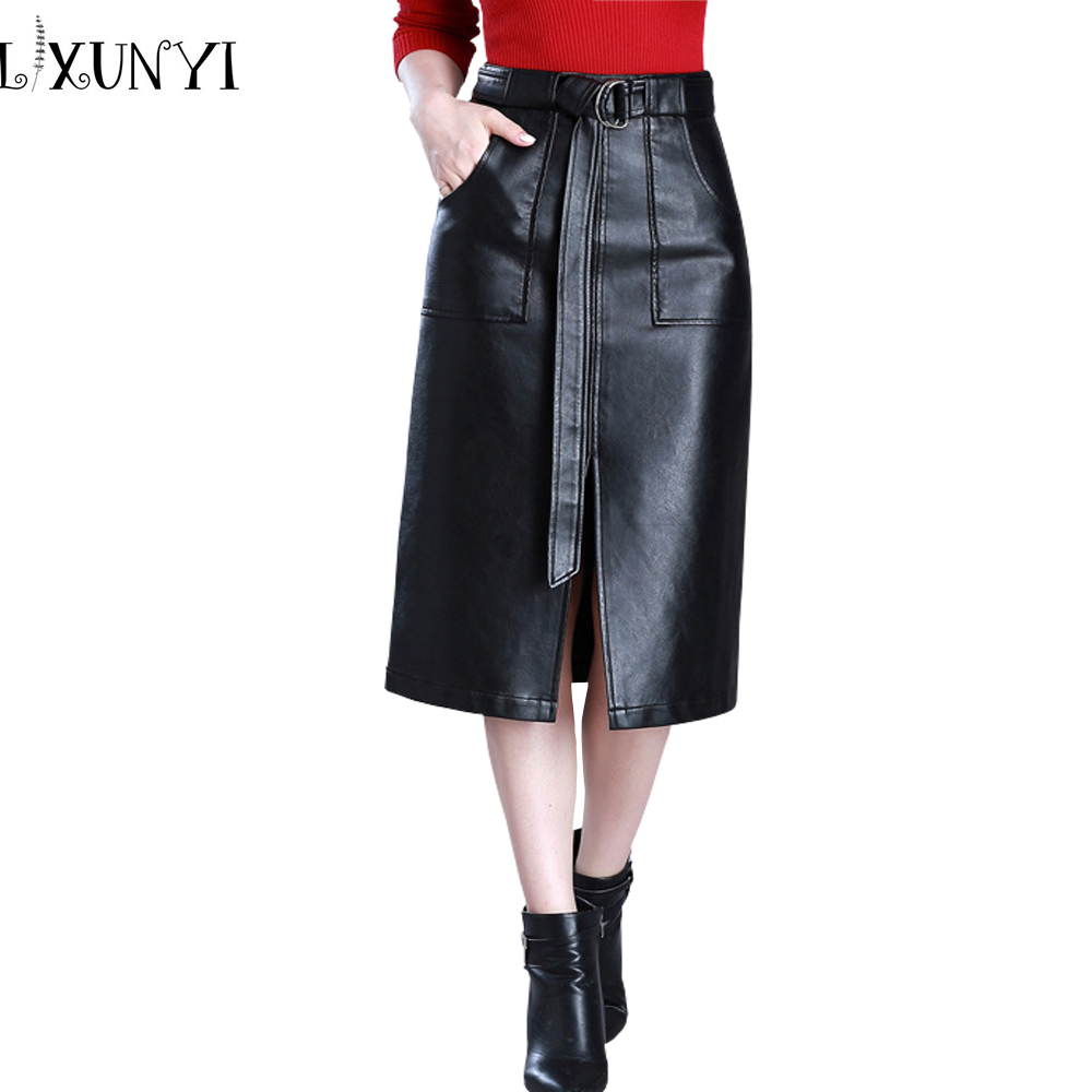 Compare Prices on Leather Long Skirts- Online Shopping/Buy Low ...
