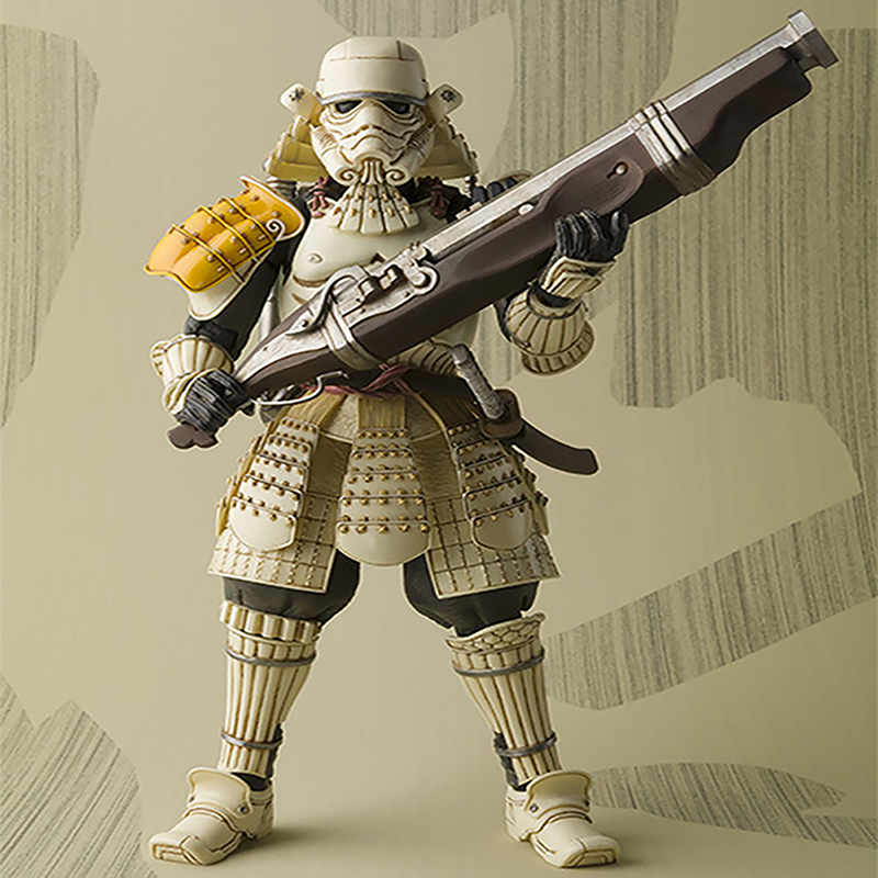 Star Wars Teppo Ashicaru Sandtrooper PVC Action Figure Collectible Model Toy 17cm KT3640 star wars taiko yaku stormtrooper 1 8 scale painted variant stormtrooper pvc action figure collectible model toy 17cm kt3256