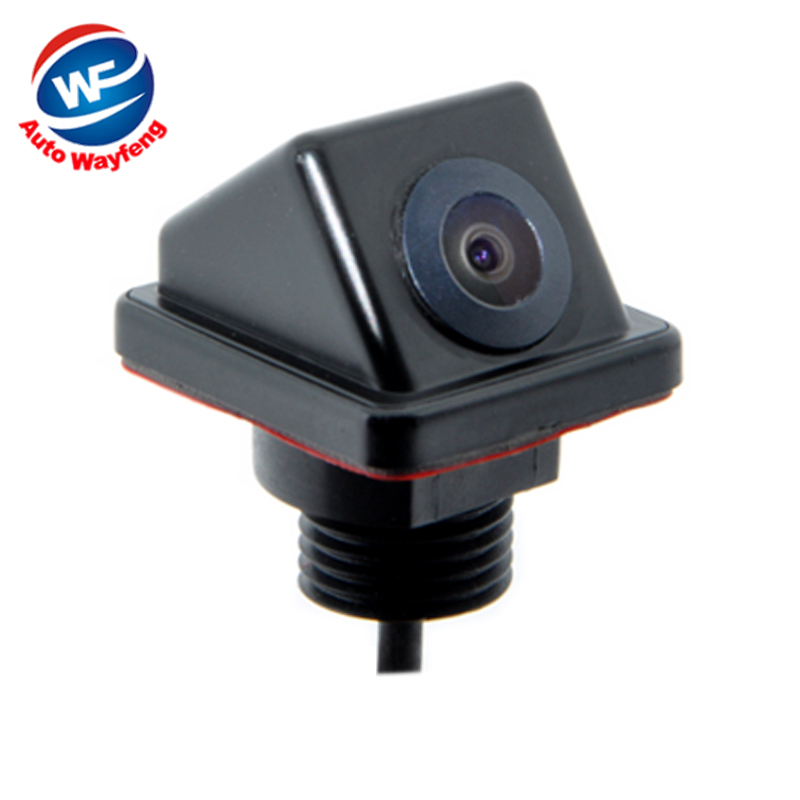 Rétroviseur de voiture Vue Arrière Caméra de Face Vue de côté Caméra De Recul Couleur De Secours 170 Large Angle de Vision Nocturne Caméra