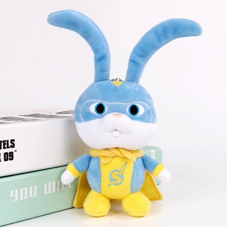 NEW 2019 Movie Secret Life Rabbit Pets 2 Plush Toy Snowball Max Daisy Rabbit Animal Stuffed Doll Toys Kid Children Gift