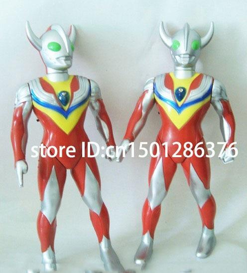 Free shipping toy electronic cartoon robot Superman  Ultraman have voice of gun