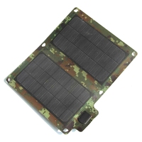 BUHESHUI Foldable 10W 5V Outdoor Solar Panel Charger For/iphone/ Mobile Phone/Power Bank USB Solar Battery Charger High Quailty