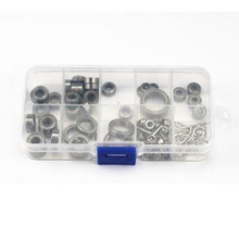 39Pcs/Set Ball Bearing Accessories For Rc Hobby Model Car 1/10 Traxxas Trx-4 Crawler