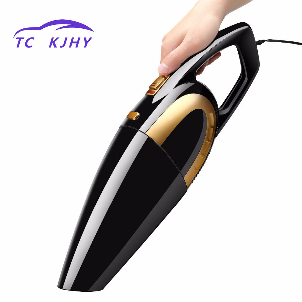2018 High Power 120W Car Vacuum Cleaner Auto Car Vacuum Cleaner 4800pa Car Vacuum By 12V with Long Power Cord Extra Carrying Bag