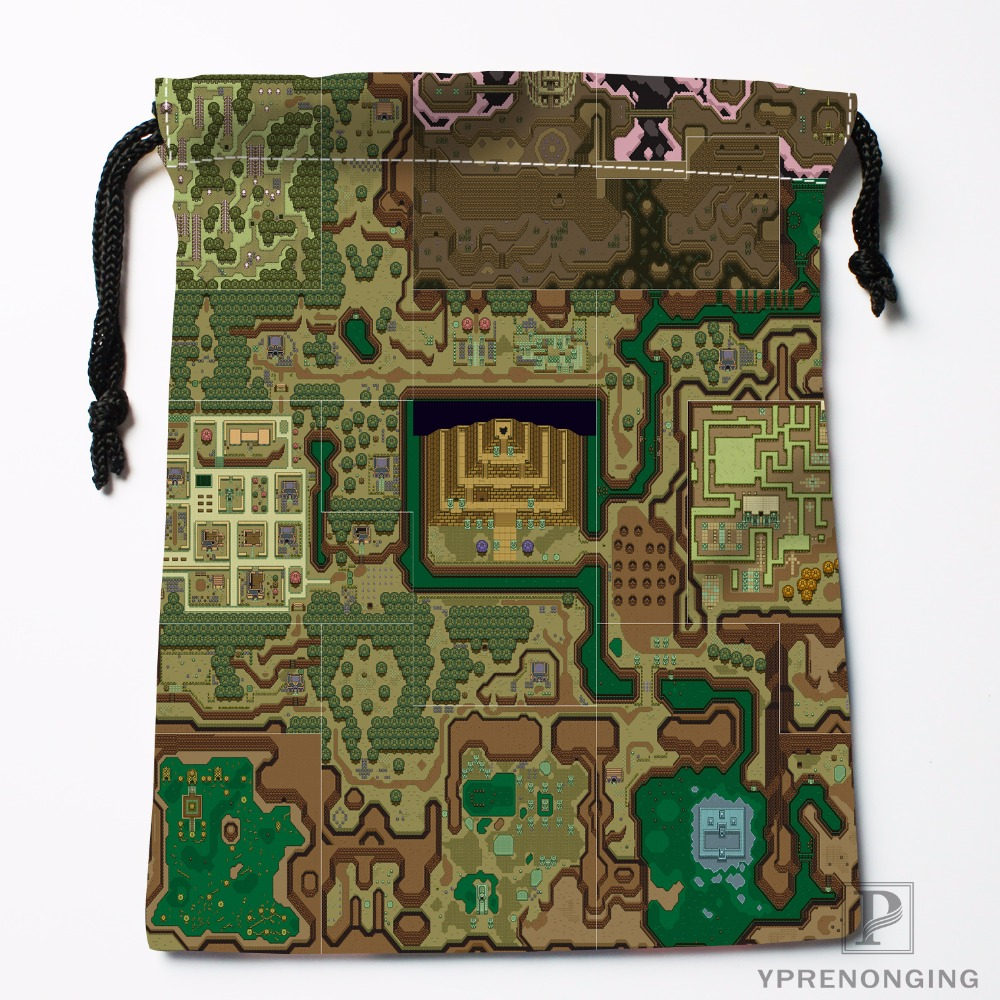 CustomLegend Of Zelda Oracle Of Ages Labr Drawstring Bags Travel Storage Mini Pouch Swim Hiking Toy Bag Size 18x22cm#0412-04-218