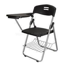 Тренировочный стул с письменной доской, стул для Конференции, студенческий офис, репортёр, пианино, класс, складной стул 4 из продажи