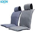 1 unid Algodón funda de cojín de asiento de coche Universal 110*48 cm de asiento Cómodo cubre la cubierta de asiento de coche pads cojín de la silla