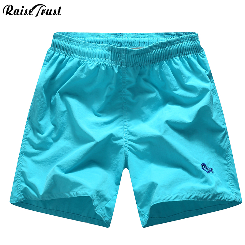 Men's Clothing Friendly Raise Trust Summer Mens Shorts Casual Solid Color Fashion Swimsuit For Men Streetwear Short Pants Couple Swimwear Male Jogger Rich In Poetic And Pictorial Splendor
