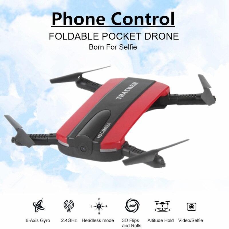 Selfie font b Drone b font With WIFI FPV Camera Foldable Pocket font b RC b