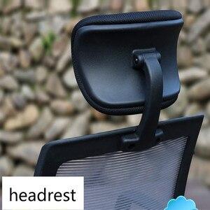 Image 3 - Headrestคอมพิวเตอร์สำนักงานหมุนยกเก้าอี้พนักพิงศีรษะปรับได้สำนักงานเก้าอี้หมอน