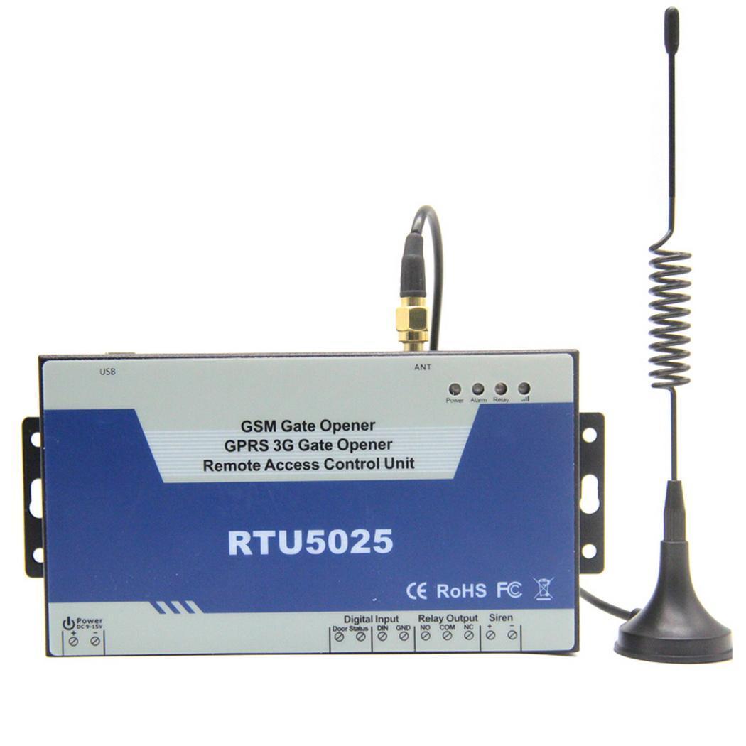 Télécommande sans fil ouvre-porte GSM porte, porte, serrures de Garage Swing 12VDC 1 ouvre-porte coulissant