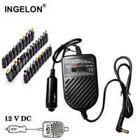 Ingelon Tragbare cargador Universal portatil 80W Notebook DC 15 v-19 v zu 24v power adapter Einstellbar auto laptop ladegerät lader