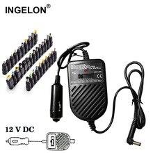 Ingelon المحمولة cargador العالمي المحمولة 80 واط دفتر تيار مستمر 15 فولت 19 فولت إلى 24 فولت محول الطاقة قابل للتعديل سيارة شاحن للكمبيوتر المحمول مغرفة