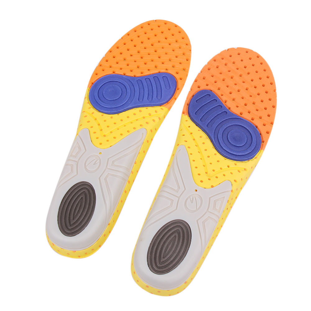 1pair Orthotic Insole EVA Insoles Flat Foot Shock Absorbing Gel Pad Shoe Cushion Feet Pads Feet Health Care Pad kid adult flat feet orthotic arch support shoe insole gel cushion pads