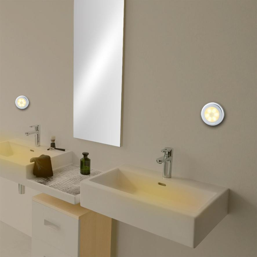 3pcs 6 LED Light PIR Wireless Auto Sensor Motion Detector Lamp Wall Cabinet Night MUQGEW Purchasing wholesale CSV