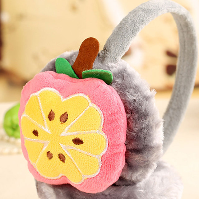 Warm Lovely Cartoon Plush Earmuffs