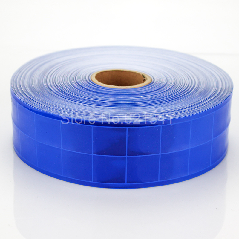 Sew on Reflective Tape Navy Blue 1m 20mm Visibility