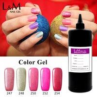 Bulk Package Nail Gel Colorful Gel Polish Bright Color Bling Gelpolish L M In Kg Wholesale