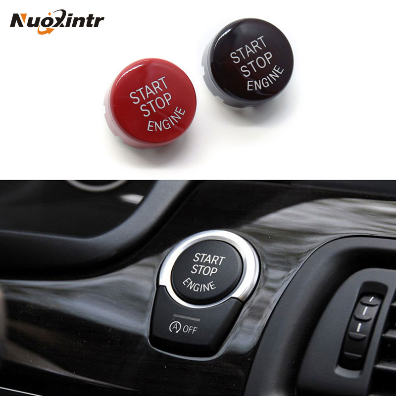 Nuoxintr Car Engine Push Button Keyless Start Stop Lock Ignition Button for BMW F01 F10 F11 F31 F48 F20 F15 F16 F30 F21 F25