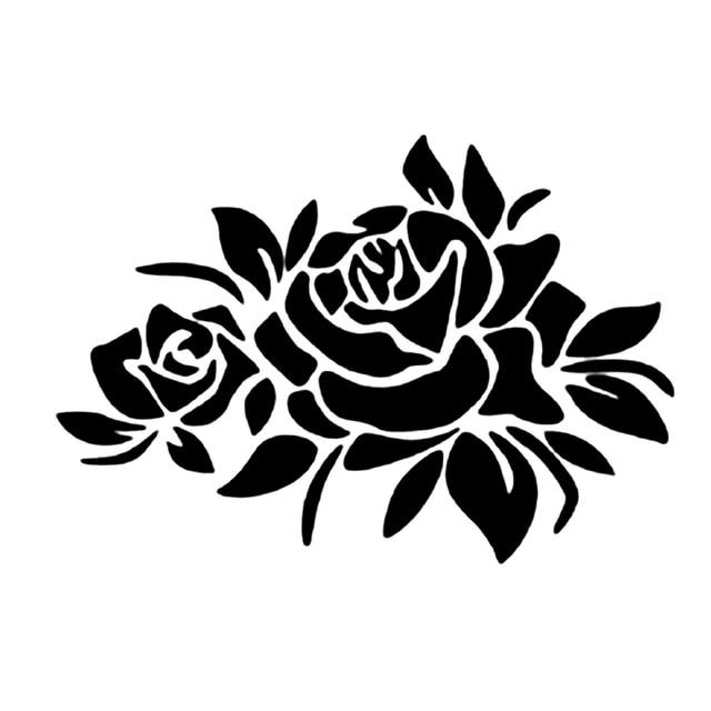 2018 Promotion Low Price Car Styling Flower Pattern Sticker