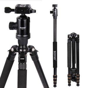 Image 4 - ZOMEI Z688 professionnel Portable caméra trépied support monopode pour appareil photo numérique DSLR avec rotule