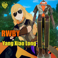 Cosplay legend RWBY season 4 The Finale Yang Xiao long Cosplay adult costume Custom Made full set halloween women costume