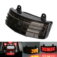 LED Brake Taillight Fender Tip Rear Stop Running Lamp Smoke Lens For Harley Street Glide 2006 2009 FLHX & 2006 EFI FLHXI