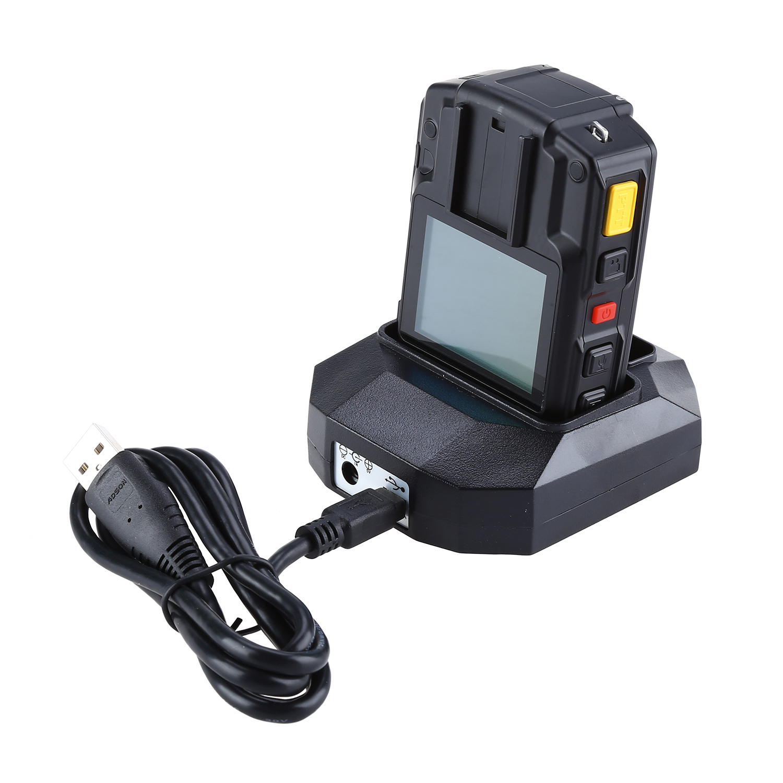 Boblov wifi câmera da polícia 64 gb f1 corpo kamera 1440 p câmeras desgastadas para aplicação da lei 10 h gravação gps visão noturna dvr gravador - 5