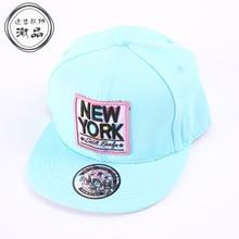 75c1d300fb1 Good Cotton Letter Kids Snapback Cap New York Embroidery Underbill Printing  Baseball Cap Girls Pink hip hop hat and cap