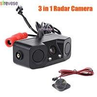 2LED Night Vision Car Parking Radar Reversing Parking Backup Camera Sensor Vehicle Rear View Assistance 170 Degree