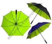 5pcs Lot Golf Umbrella Visible Double Layers Fabric Fiberglass Frame Auto Open Pongee Anti Static Windproof
