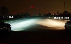 Image 5 - Safego DC 12V hid xenon h4 xenon halogen bulbs light H4 9004 9007 H13 high low Hi Lo lamp 35W Car headlight 4300K 6000k 8000k