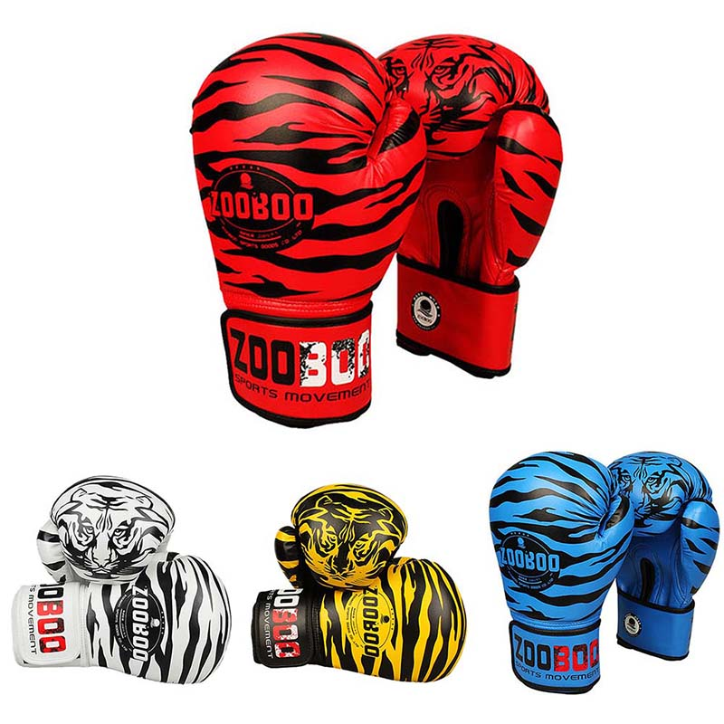 Boxing-Gloves Protective Muay-Thai 1-Pair Wear-Resistant Full-Finger Unisex High-Quality