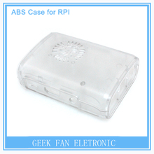 Raspberry Pi 2 ABS Transparent Case Cover Raspberry Pi Model  B Plus with Fan Hole Clear Shell Box for Raspberry pi B302T