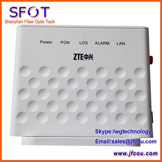 Оригинал ZTE ZXA10 F401 EPON ONU с одного порта распространяется на режимах FTTH