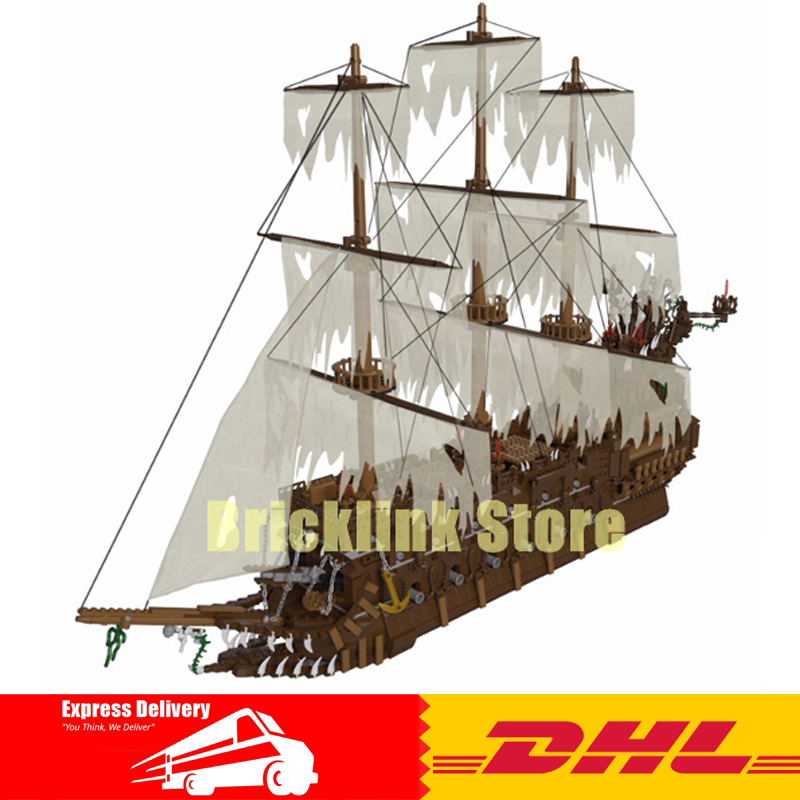 In Stock DHL Lepin 16016 3652Pcs MOC Movies Series The Flying Dutchman Set Building Blocks Bricks Educational Toys Model Gift in stock lepin 02012 774pcs city series deepwater exploration vessel children educational building blocks bricks toys model gift