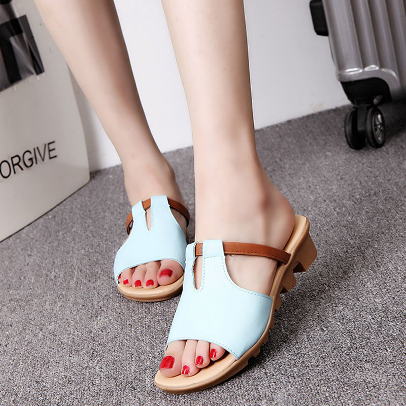 Fashion Summer Slides Women Slippers Bohemia Gladiator Leisure Beach Outdoor Slippers Female Ladies Footwear Women Shoes DC87 summer woman slippers outdoor butterfly knot decoration fashion slides for ladies flat beach shoes women slippers footwear
