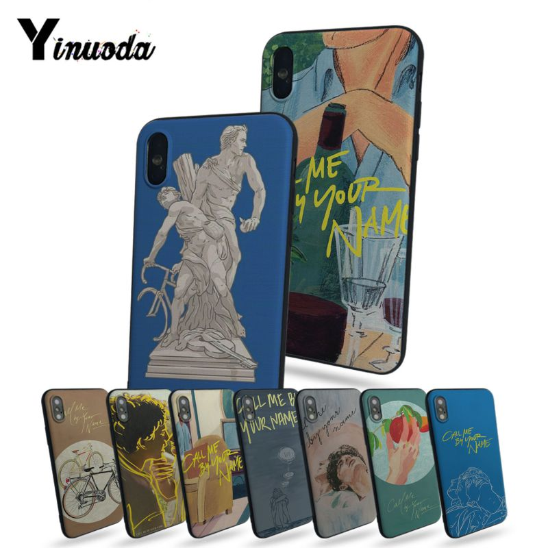 Yinuoda Call me by your name High Quality Classic High-end Phone Accessories Cas