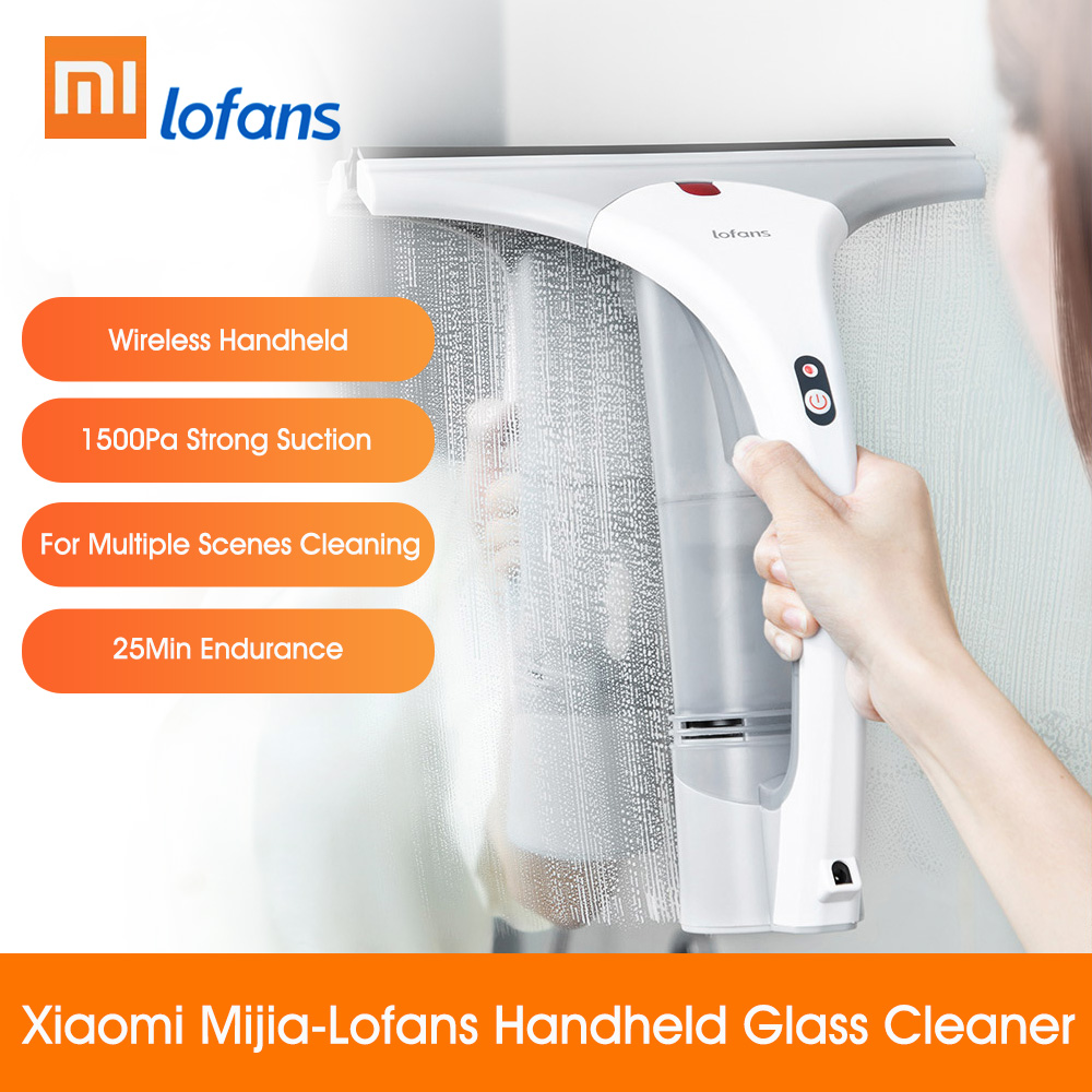 Xiaomi Lofans Electric Glass Handheld Cleaner Window Car Home Kitchen Desktop Cleaning Machine Wireless Strong Suction