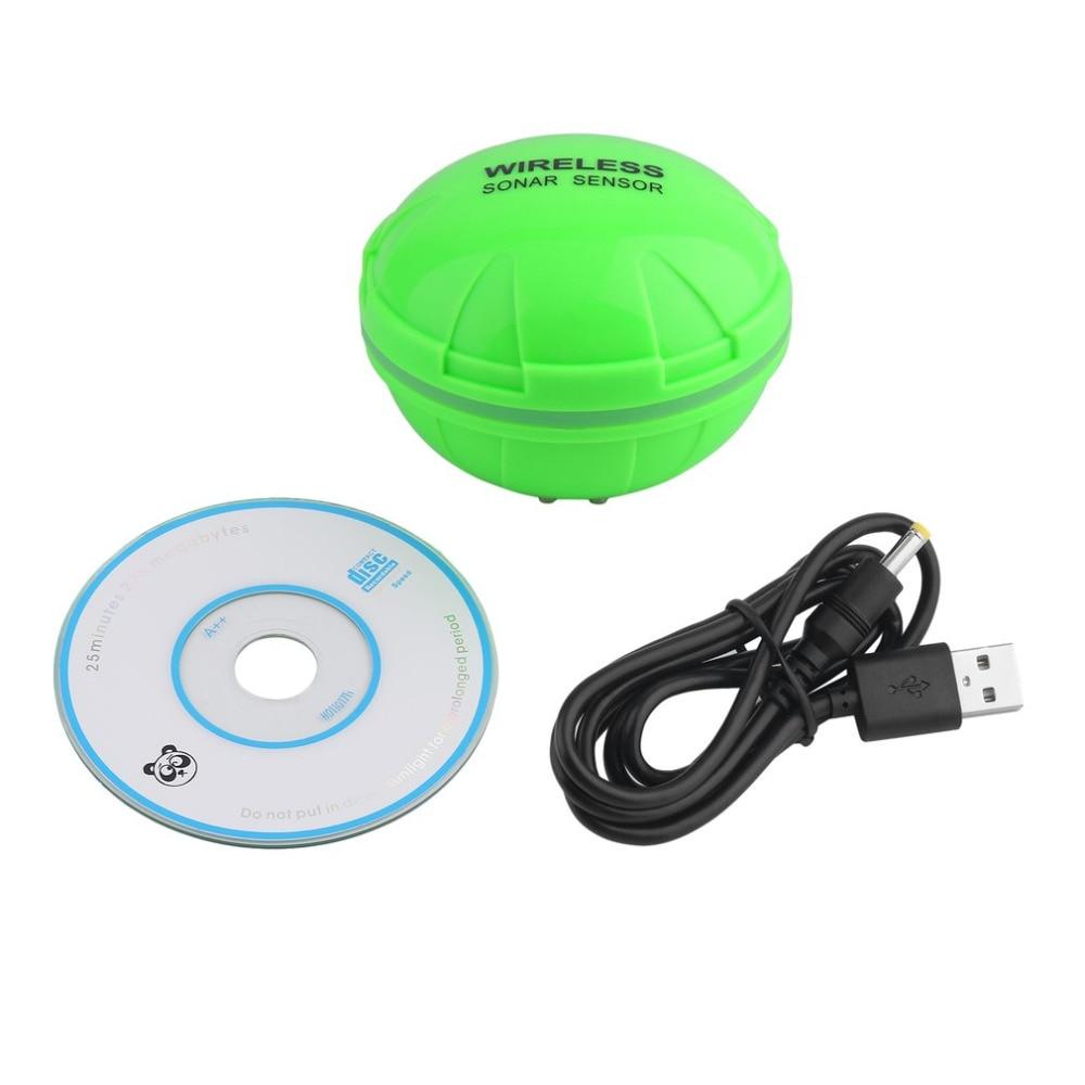 Bluetooth Wifi Underwater Fish Finder Camera Echo Sounders Sonar FishFinder Deeper Sensor Alarm Android/IOS Fishing lures цена